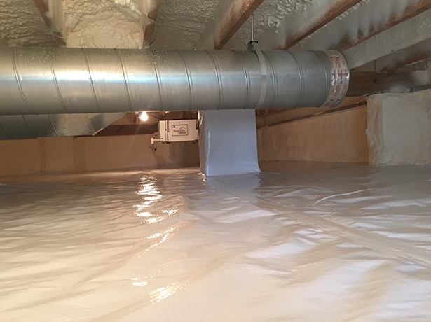 Crawl Space Duct : Crawl spaces duct service