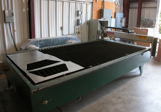 Sheet metal fabrication and custom ductwork machine