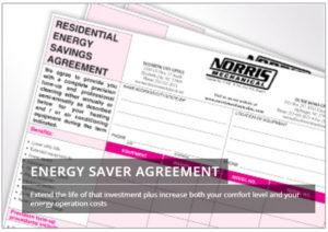 Air Conditioning Maintenance Agreement - Energy Savings Agreement